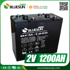 2V 1200ah AGM best rechargeable battery type