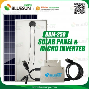 Grid-tied PV System Solar Micro Inverter 250W