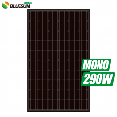 full black mono 270w 275watt 280wp 285w solar panel 290 w 295w solar module