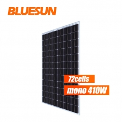 China double glass solar panel bifacial solar panel 48v 410w