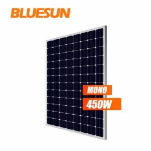 Bluesun ETL TUV Certificated 96 Cells 5BB Mono 450w 450watt Solar Panel Price