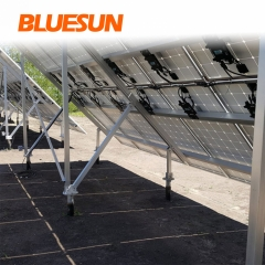 Solar Flat Roof Mounting Structure Systems