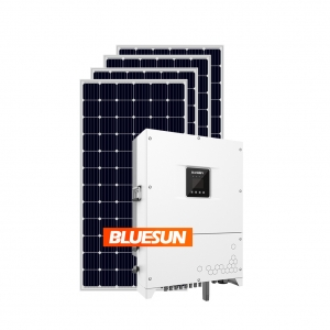 Bluesun 70kw Solar Power Syste70kw On Grid Solar Energy System 70KVA Solar Panel System-Bluesun