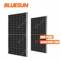 390 watt 390w half cell solar pv panel