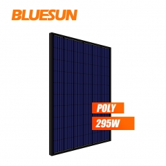 full black poly 295w 295watt solar panel PV module