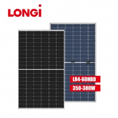 LR4-60HBD 166mm Half Cell 380W 380 Watt Mono Solar Panel