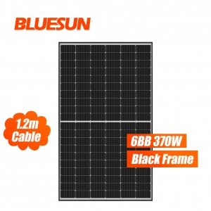 Bluesun M6 Wafer 6BB 370W Half Cell Solar Panel